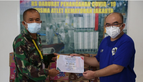 Luncurkan Milk-Ido, OT Group Sumbang 5.000 Paket Susu