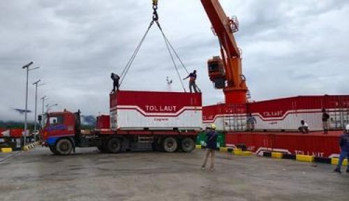 Tol Laut Jokowi Maksimalkan Distribusi Persiapan PON XX di Papua