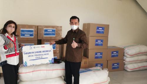 Danone Indonesia Turut Salurkan Bantuan ke RS Wisma Haji Pondok Gede