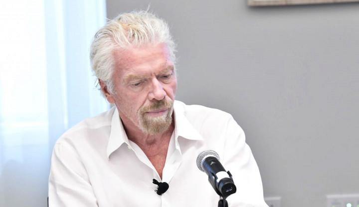 Foto Berita Bikin Geger, Miliarder Richard Branson Tiba-Tiba Diperiksa FBI, Ada Apa?