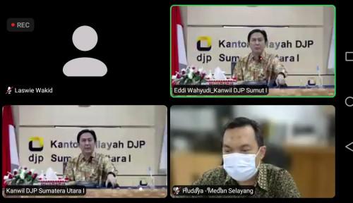 DJP Sumut Gelar Webinar dalam Mendukung Bisnis UMKM