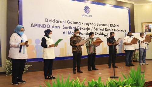 Digempur Covid-19, Kemenaker Satukan Stakeholder Gelar Deklarasi Gotong-Royong, Ini Isinya...