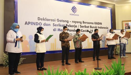 Kemenaker Satukan Stakeholder Gelar Deklarasi Gotong Royong