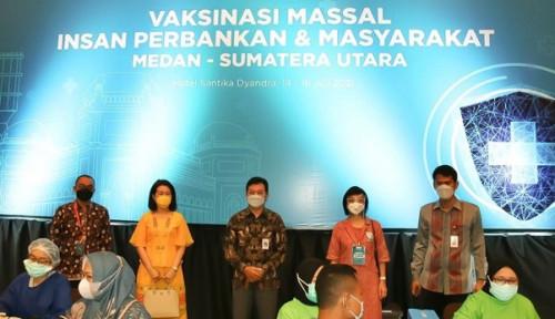 OJK Bersama Kemenkes dan Industri Perbankan Gelar Vaksinasi Massal di Kota Medan
