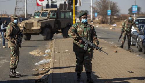 Puluhan Ribu Tentara Afrika Selatan Turun ke Jalan Hadapi Massa Demonstran