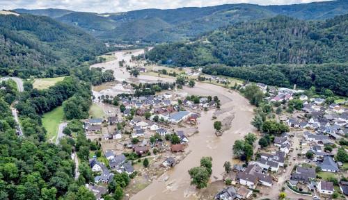 Banjir Parah di Eropa Setidaknya Merenggut 60 Korban Jiwa