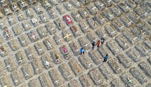 Ya Tuhan! Ratusan Warga Jakarta Pusat Meninggal saat Jalani Isoman