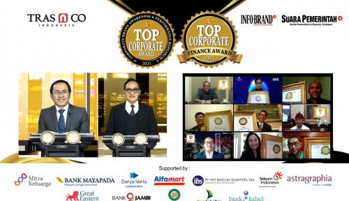 Bertahan di Tengah Pandemi, Raturan Brand dan Perusahaan Diganjar Penghargaan Top Corporate Award