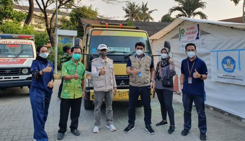 Kasus Positif Covid-19 Meledak, Askrindo Syariah Serahkan Bantuan di Rumah Sakit Jakarta