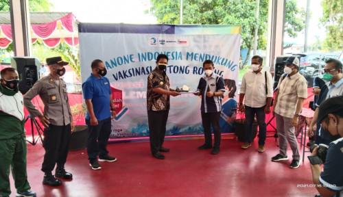 Wakil Bupati Klaten Tinjau Vaksinasi di Pabrik AQUA dan Sarihusada