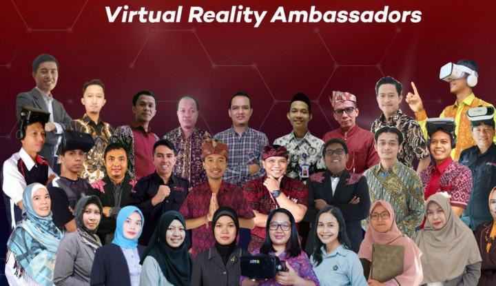 program vr ambassador berhasil mencetak ribuan pionir virtual reality