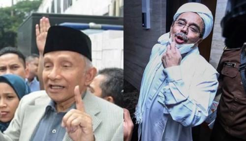 Kekuatan Habib Rizieq Terbongkar, Sebut Nama Amien Rais