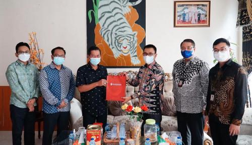 Bank Banten Bahas Rencana Kerja Sama dengan Pemerintah Kota Serang