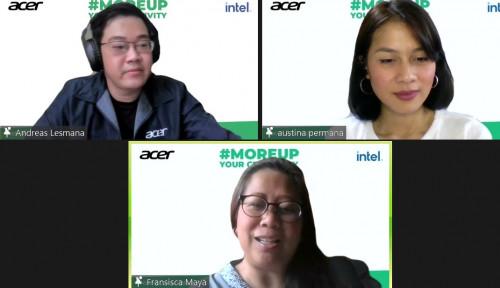 Jawab Tantangan Konten Kreator, Acer Hadirkan Workshop
