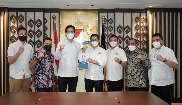 Laporan Munas VIII Kadin Indonesia Ditandatangani, Kepengurusan Siap Dibentuk