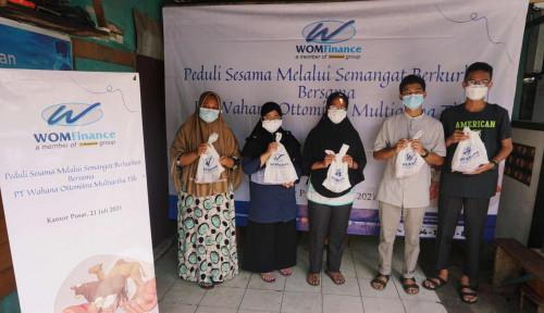 Berbagi di tengah Pandemi, WOM Finance Berkurban di 15 Kota Se-Indonesia