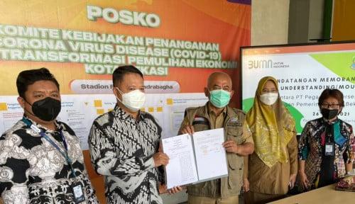 Pegadaian Kanwil VIII Jakarta dan Pemkot Bekasi Bidang Pembiayaan dan CSR