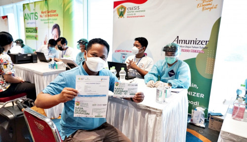 Gandeng Enesis Group, CFO Club Indonesia Ajak Pelaku UMKM Sukseskan Vaksinasi