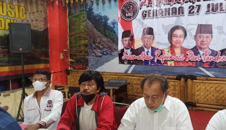 Pandemi Lagi Mengamuk, Tokoh-Tokoh Kudatuli Ingatkan Para Menteri Jangan Khianati Jokowi