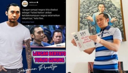 Kabar Terbaru dari Keluarga Cikeas Bikin Geger, Tanga Pangeran SBY Penuh Tato, Ternyata Oh...