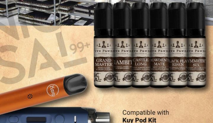 Kolaborasi MOVI-Five Pawns Ciptakan Liquid Legendaris NICSAL99+ dari California