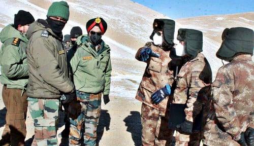 Akhirnya! China dan India Setuju Tarik Tentara di Perbatasan yang Mematikan