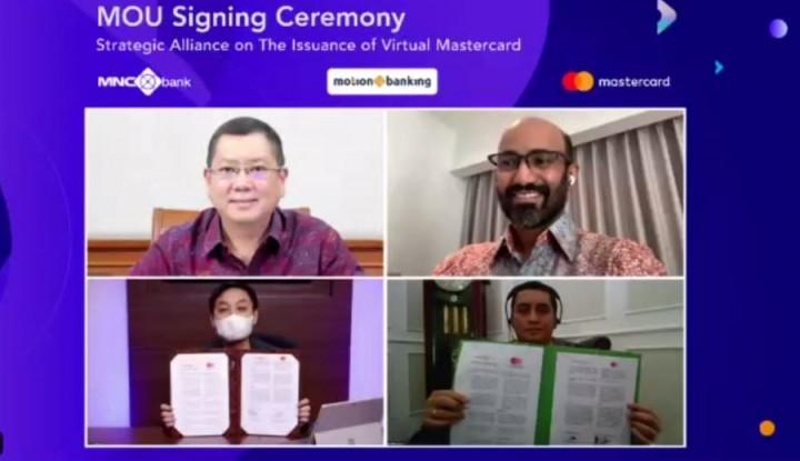 Gandeng Mastercard, MNC Bank Luncurkan Kartu Debit ddan Kartu Kredit Virtual