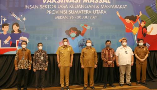 OJK Gandeng BI, Forkom IJK, BMPD dan Dinkes Percepat Vaksinasi di Sumut