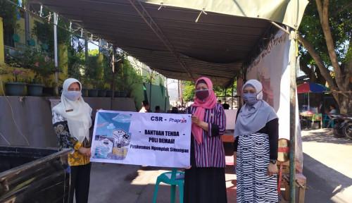 Bantu Nakes yang tengah Berjuang di Garda Terdepan, Phapros Salurkan Bantuan Sembako