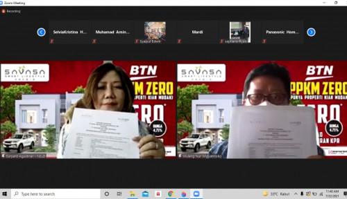 Kolaborasi BTN-Savasa Hadirkan KPR Zero, Bisa Libur Bayar KPR Loh