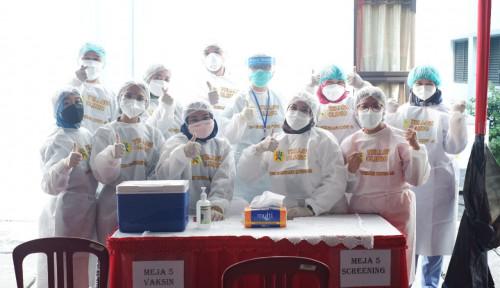 PT Santos Jaya Abadi dan Kemenperin Gelar Vaksinasi Industri bagi 2.000 Karyawan di Karawang
