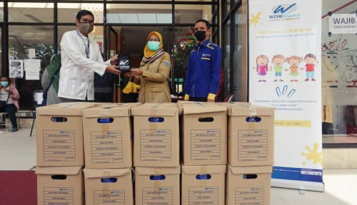 Agar Anak-Anak Sehat di tengah Pandemi, WOM Finance Berikan Donasi Multivitamin