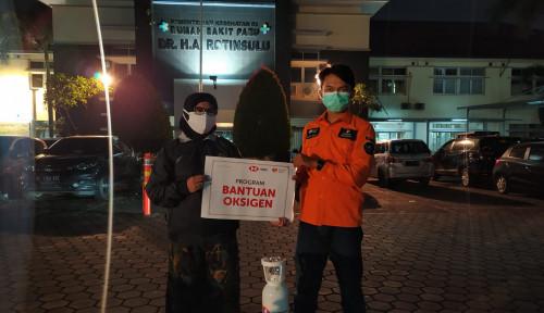 Berbagi di Tengah Pandemi, HSBC Donasi Persediaan Oksigen dan Dana Bantuan untuk Pasien Covid-19