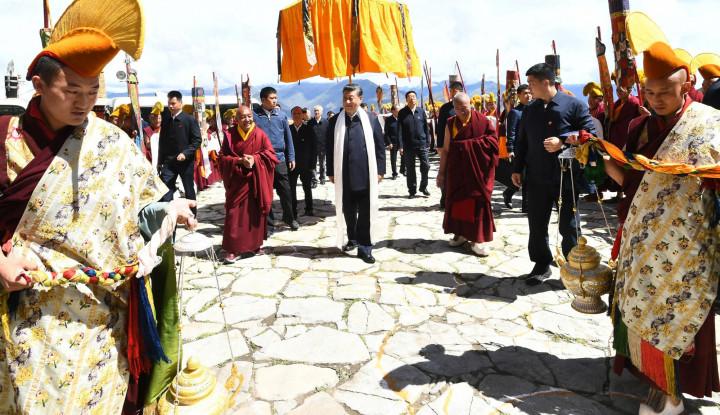 Pesan Apa yang Coba Disampaikan Xi Jinping dalam Kunjungannya ke Tibet? Pakar Buka-bukaan Faktor...
