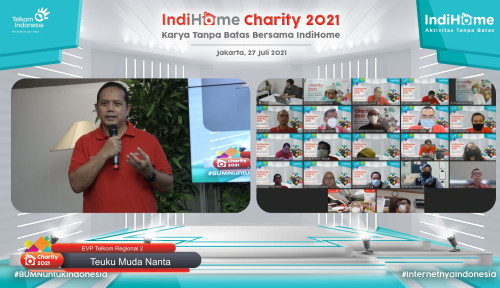 Bantu Masyarakat Terdampak Pandemi, IndiHome Alokasikan Bantuan Hingga Rp420 Juta