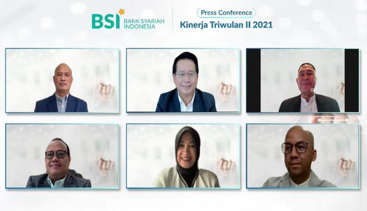 Ngegas, Laba Bersih BSI Meroket 34,29% di Semester I 2021
