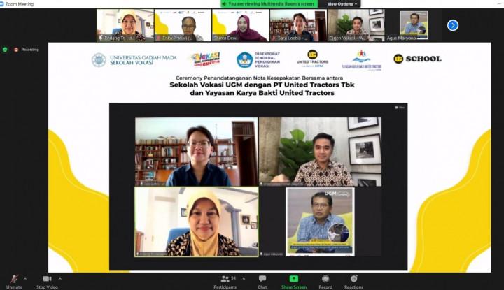 Dukung Kemajuan Dunia Vokasi UT Jalin Kerjasama Dengan Sekolah Vokasi UGM