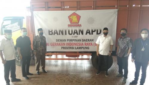Gerindra Turun Gunung Bantu Daerah Tangani Pandemi, Gubernur Lampung Berikan Apresiasi