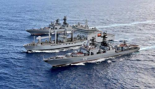 Waspadai China, 4 Kapal Perang India Bersenjata Penuh Dikirim ke Laut China Selatan