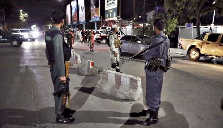 Ledakan Dahsyat Diikuti Tembakan Barbar Guncang Kabul, Amerika Cirikan Khas Taliban