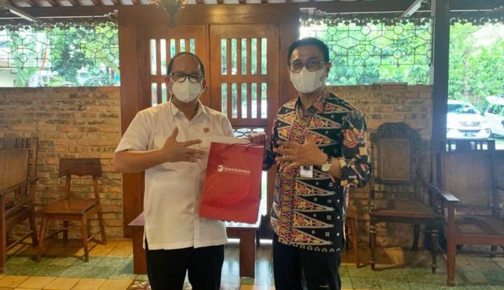 Dorong Perpindahan RKUD, Dirut Bank Banten Temui Ketua DPRD Kota Tangerang Selatan