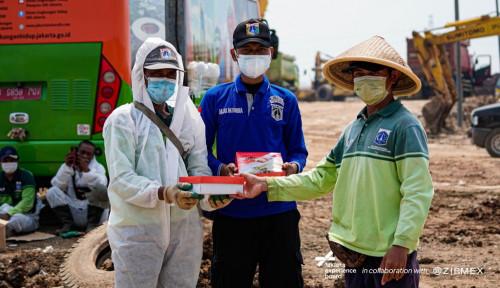 Gandeng Pemprov DKI Dan JXB, Zipmex Berbagi Makanan Sehat Bagi Para Petugas Kemanusiaan