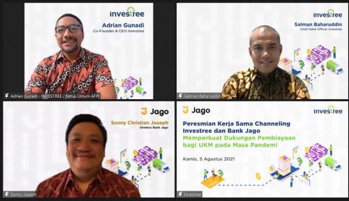 Investree Umumkan Kolaborasi dengan Bank Jago sebagai Lender Institusi