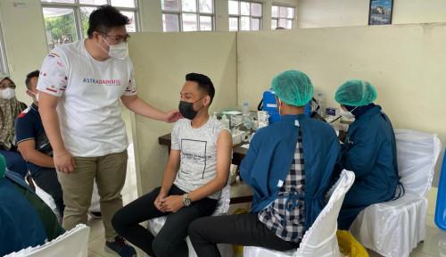 Dukung Program Pemerintah, Astra Group Medan Gelar Vaksinasi Gotong Royong