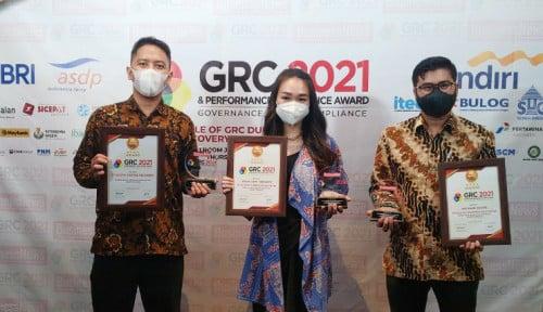 SiCepat Ekspres Raih Tiga Penghargaan GRC & Performance Excellence Award 2021