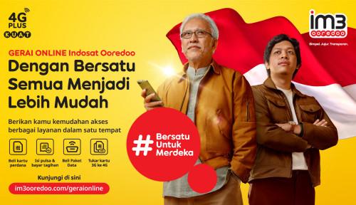 Jelang HUT Indonesia ke-76, IM3 Ooredoo Kampanyekan 'Bersatu untuk Merdeka'