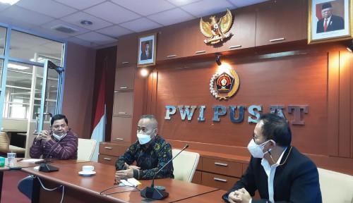 Rapat Virtual PWI Pusat dan Pemprov Sultra Pastikan Kendari Tuan Rumah Hari Pers Nasional 2022