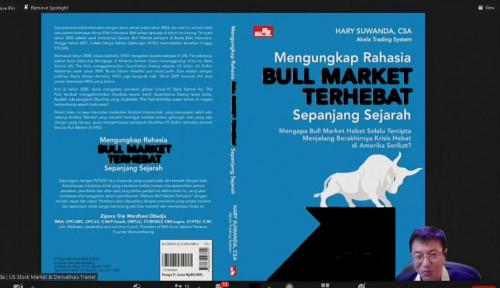 Hary Suwanda Luncurkan Buku Mengungkap Rahasia Bull Market Terhebat Sepanjang Sejarah