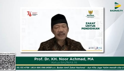 BAZNAS Buka Pendaftaran Beasiswa Cendekia BAZNAS 2021