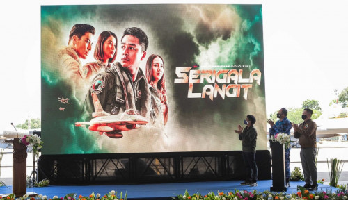 Sambut HUT RI, MAXstream dan TNI AU Rilis Film Serigala Langit, Anak-Anak Muda Wajib Nonton!